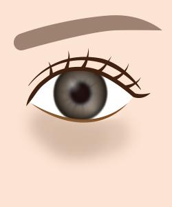 目の下のクマイメージ